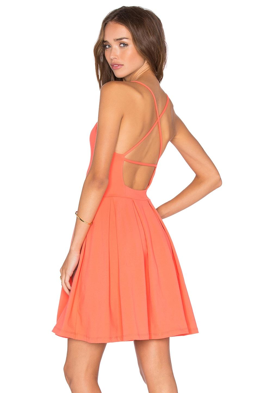 Susana Monaco Gigi Dress in Blaze