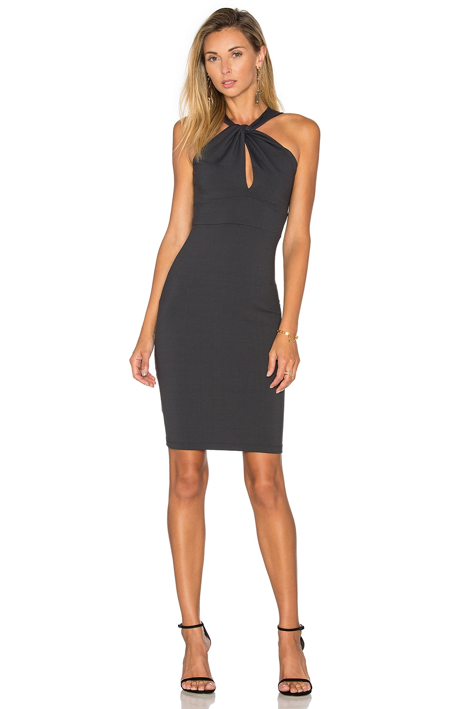 Susana Monaco Aura Dress in Onyx