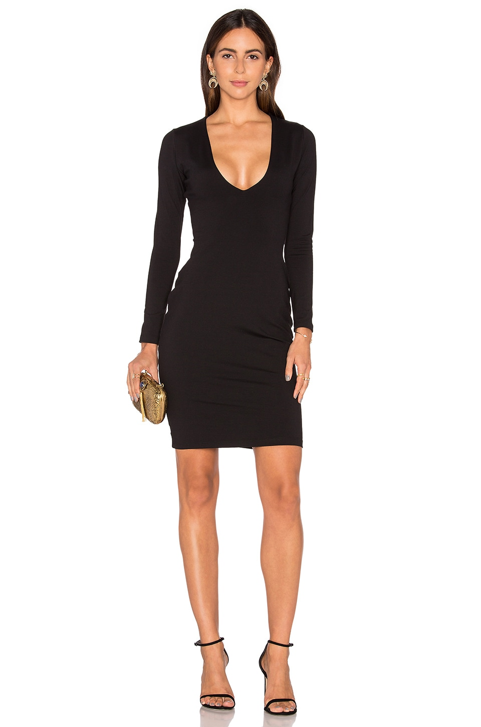 Susana Monaco Shanina Dress in Black
