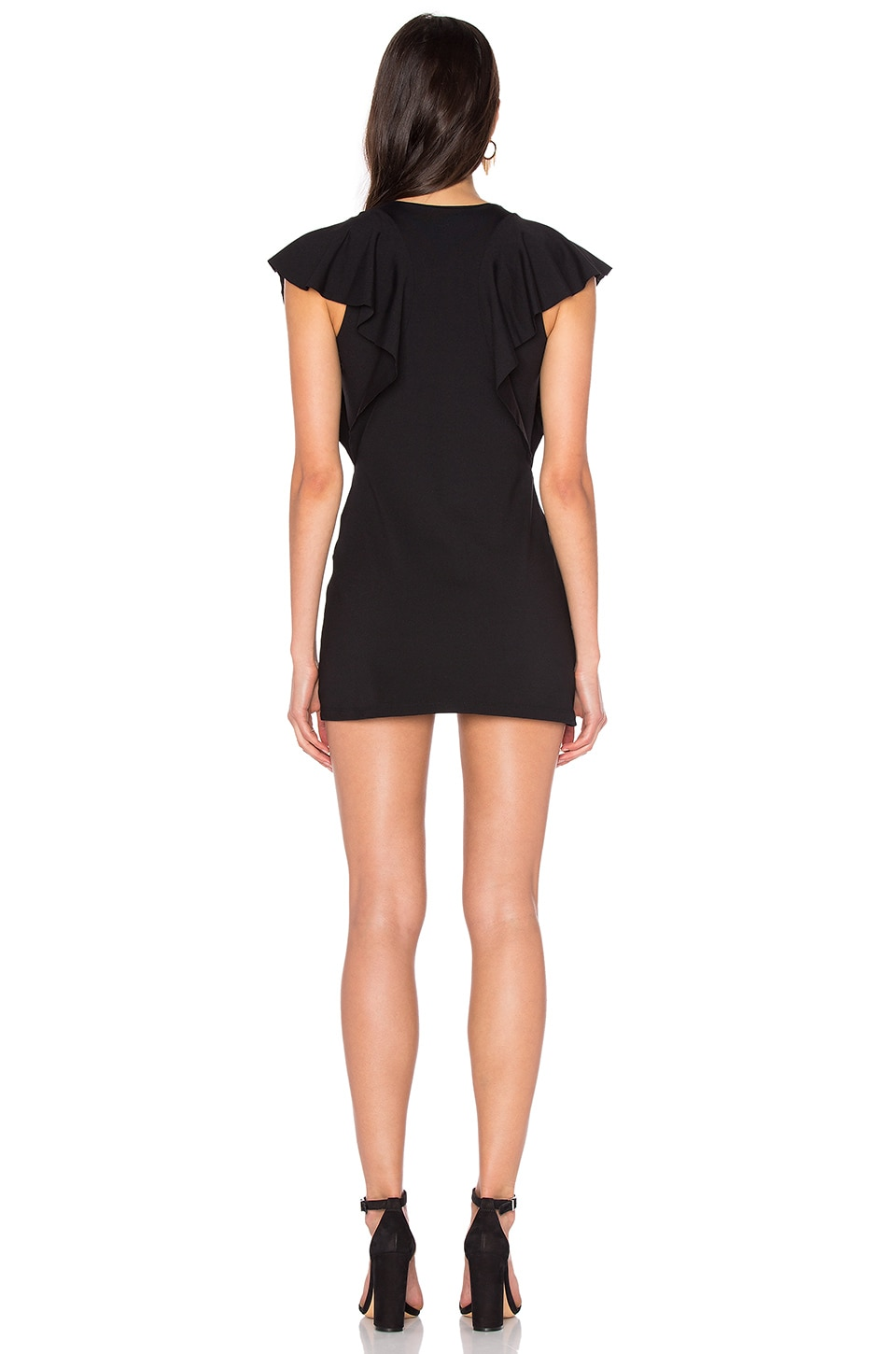 "Susana Monaco Lana 16"" Dress in Black"