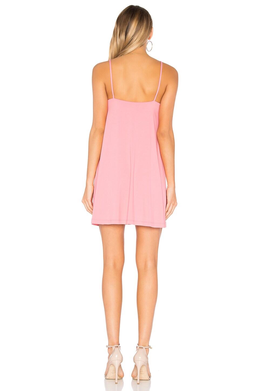 "Susana Monaco Very V 16"" Drape Dress in Amaryllis"