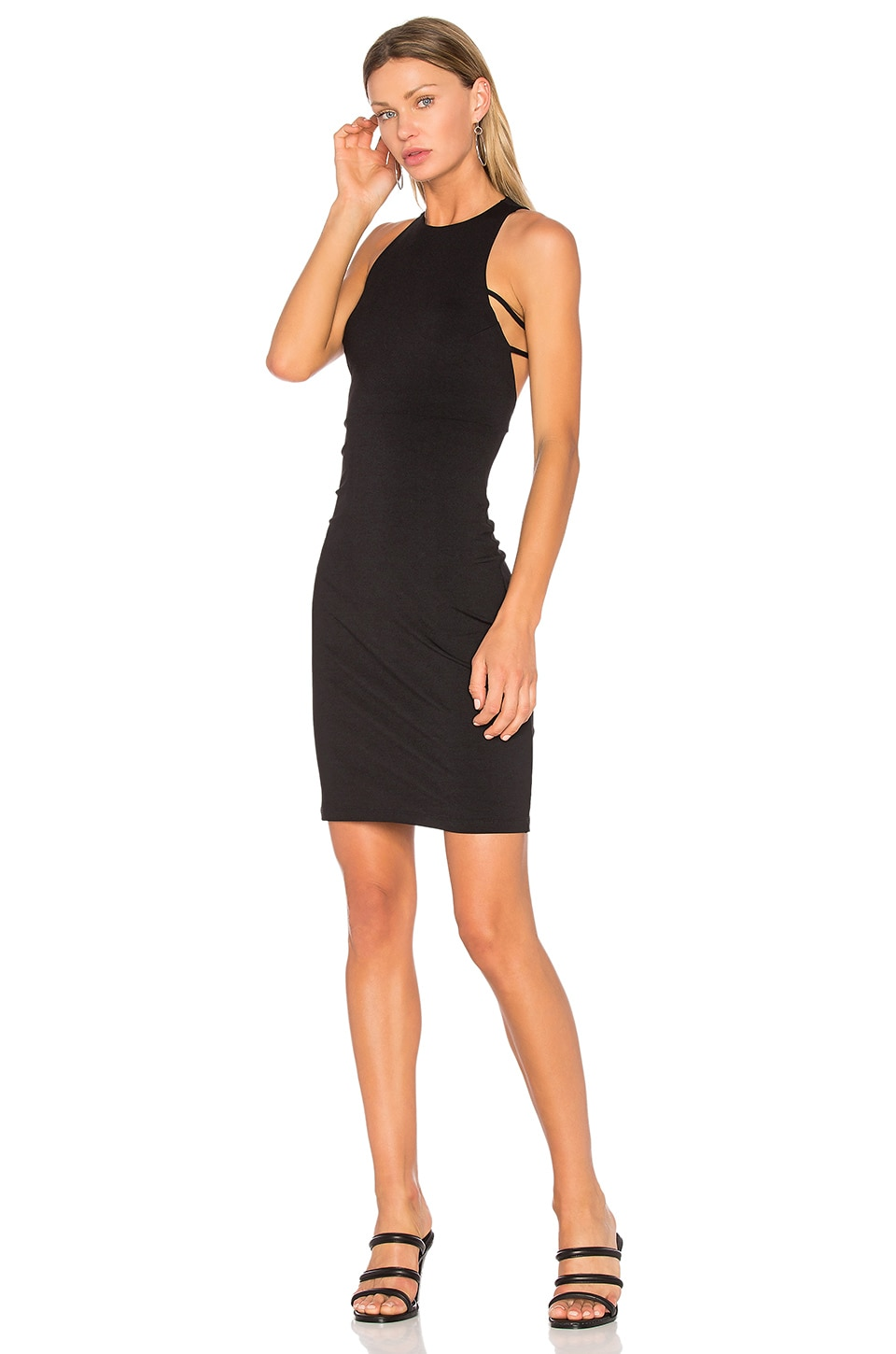 Susana Monaco Fawn Dress in Black