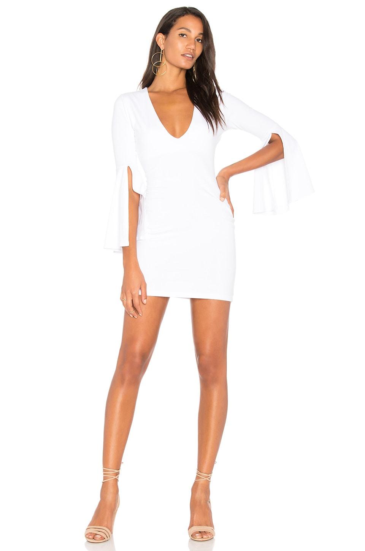 6d26bd0e5b22 Full Product View. Susana Monaco Split Sleeve Dress in Sugar