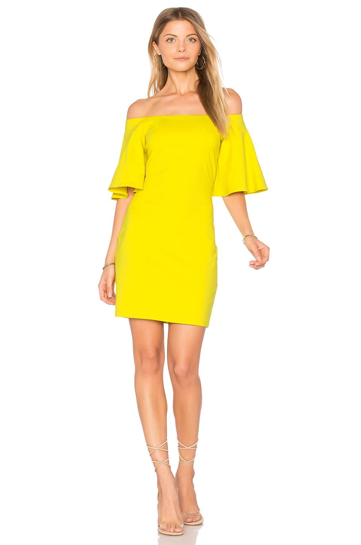 Flutter Sleeve Dress in Red. - size XS (also in S) Susana Monaco Geniue Stockist Cheap Online 2gFzV2