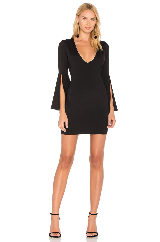 b2e4387cbcc1 Susana Monaco Split Sleeve Dress in Black