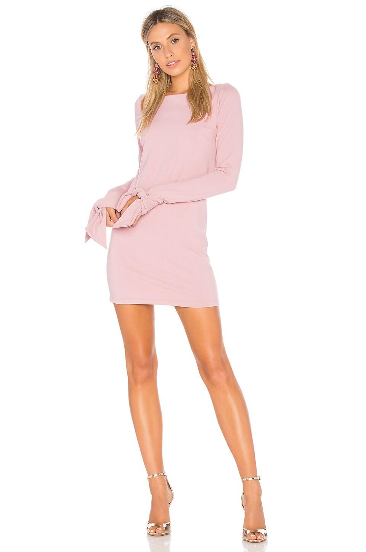 Tied Sleeve Mini Dress
