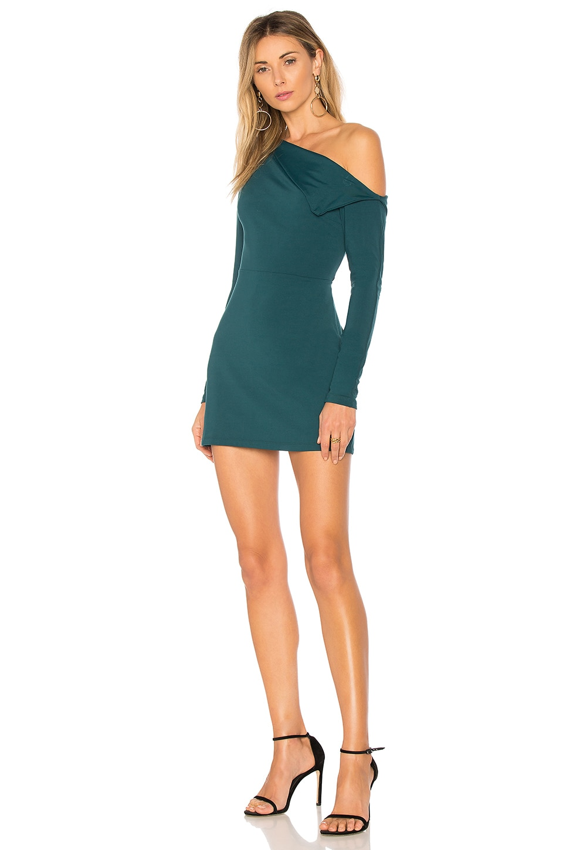 4be5ff87eb7e Full Product View. Susana Monaco Off Shoulder Lapel Dress in ...