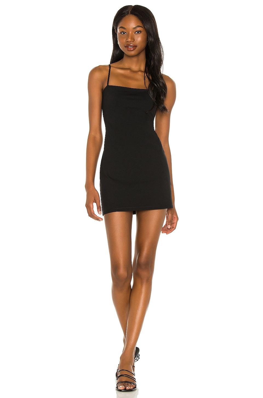 Susana Monaco Thin Strap Mini Dress in Black