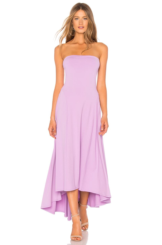 73d56209022b Full Product View. Susana Monaco Strapless Hi Low Dress in Violet