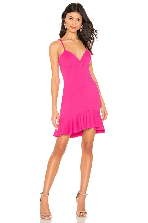 Lifted Ruffle Dress