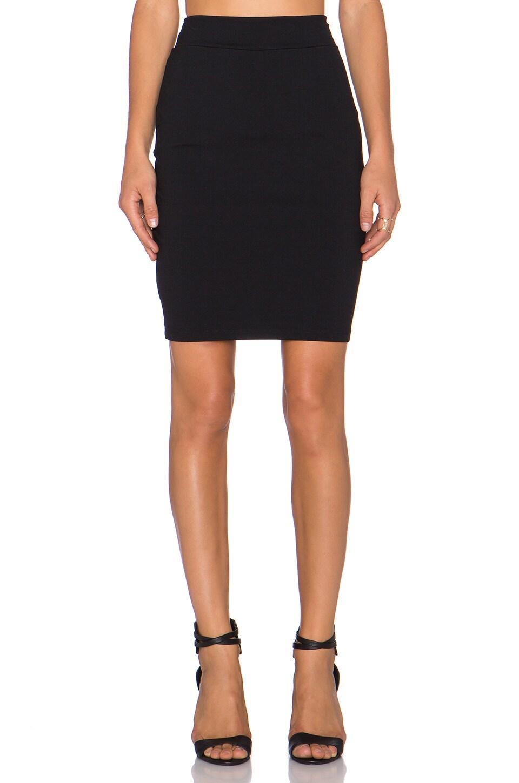 Susana Monaco Pencil Skirt in Black