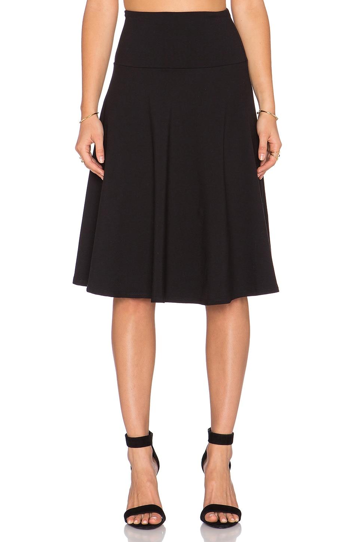78b5878333 Susana Monaco High Waist Flared Skirt in Black   REVOLVE