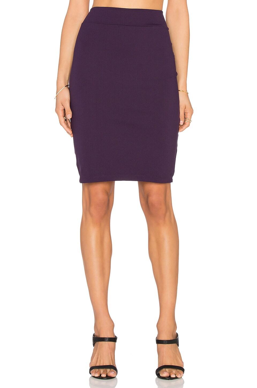 Susana Monaco Pencil Skirt in Regal