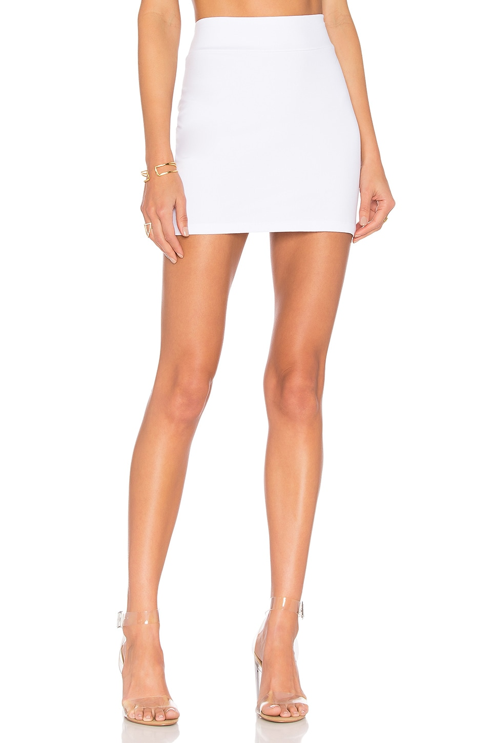 Susana Monaco Slim Skirt in Sugar