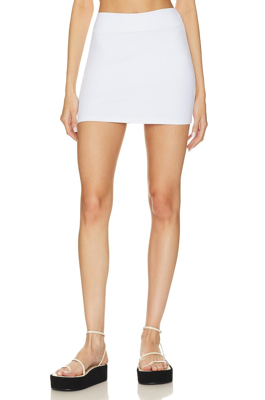 Susana Monaco Slim Skirt in Sugar