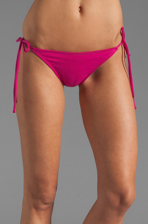 Susana Monaco Tis String Bikini Bottom in Fuchsia