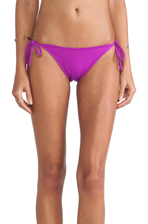 Susana Monaco Tie String Bikini Bottom in Supernova