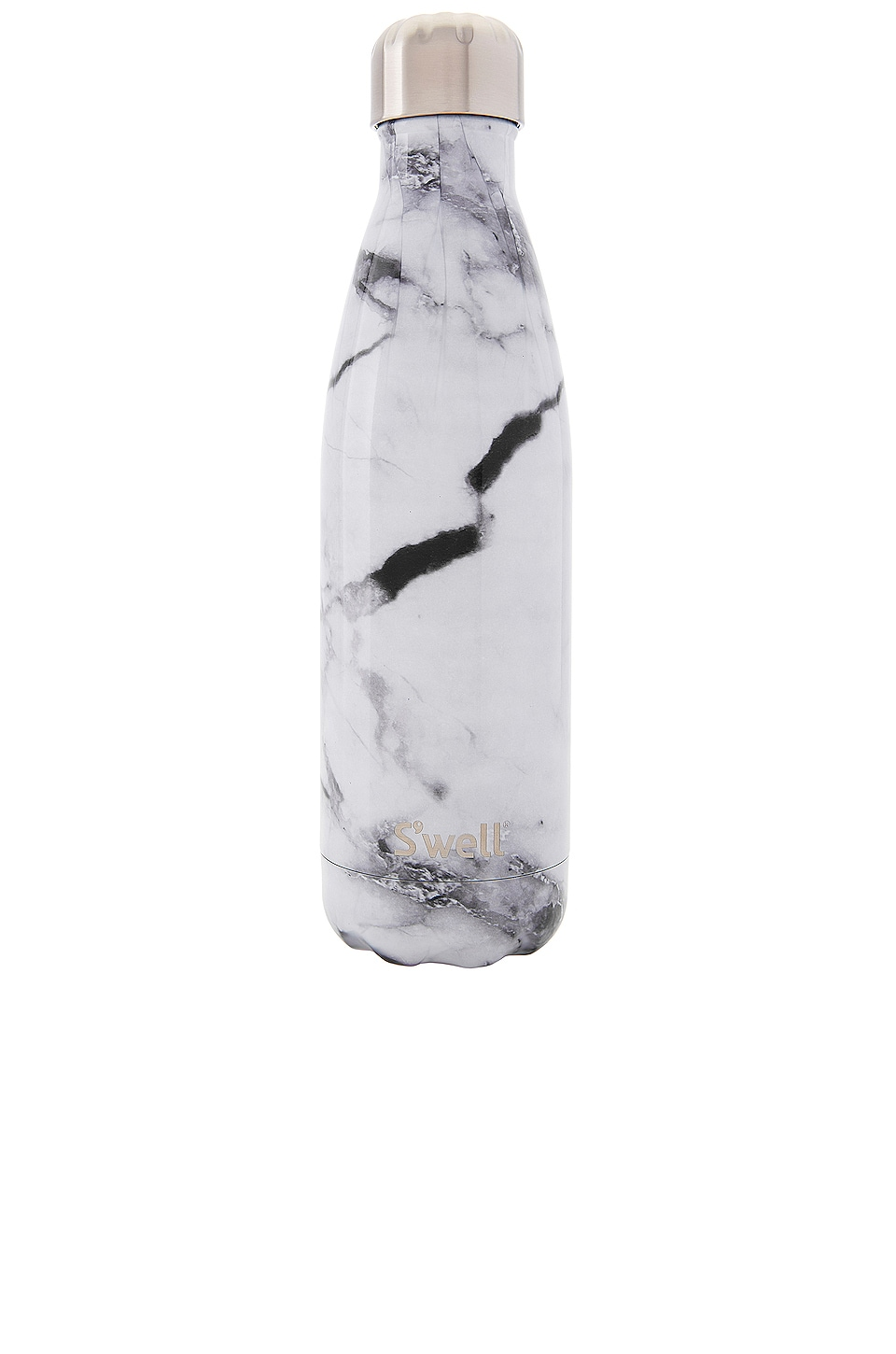 S'well Elements 17oz Water Bottle in White Marble
