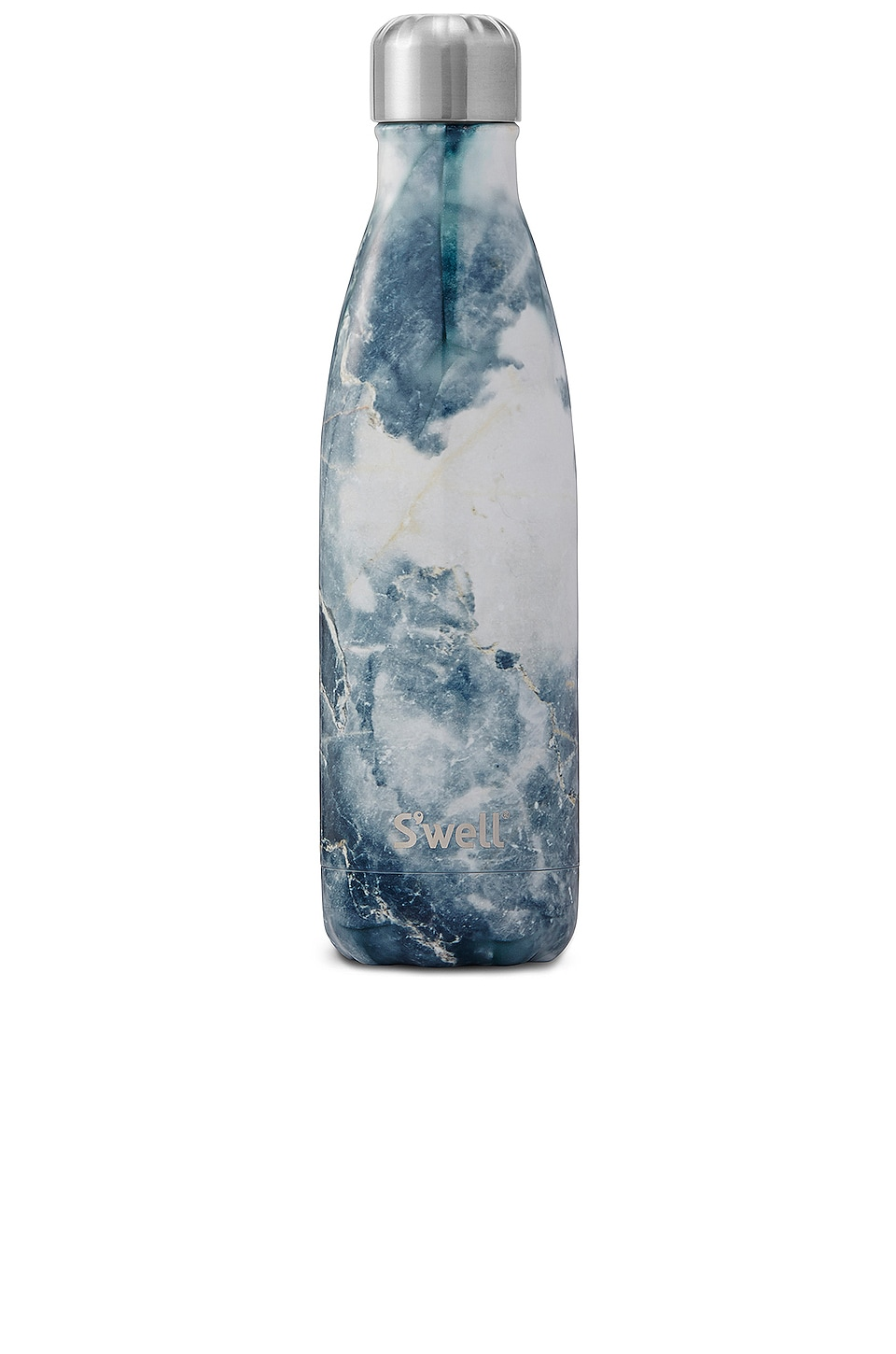 S'well Elements 17oz Water Bottle in Blue Granite
