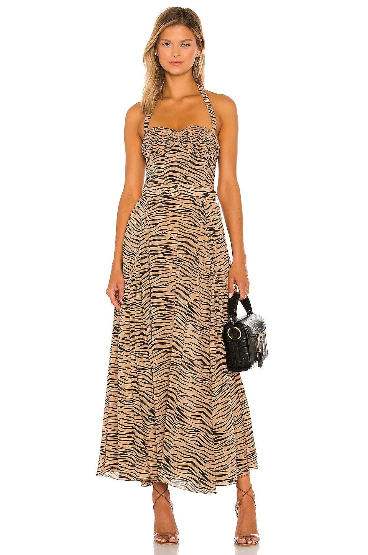 SWF Halter Dress in Tiger