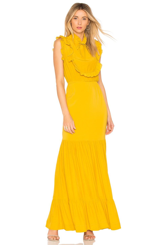 SWF Celeste Dress in Mustard