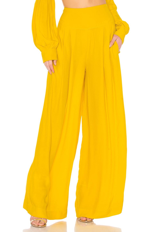 SWF Winnie Wide Leg Pant in Mustard