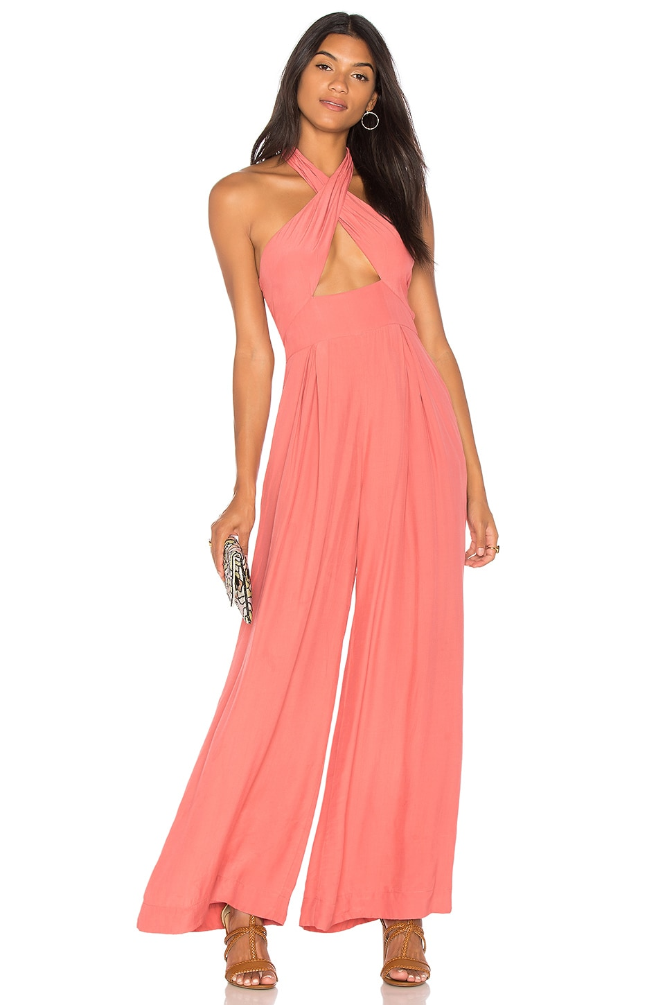Farrah Wide Leg Jumpsuit by SWF