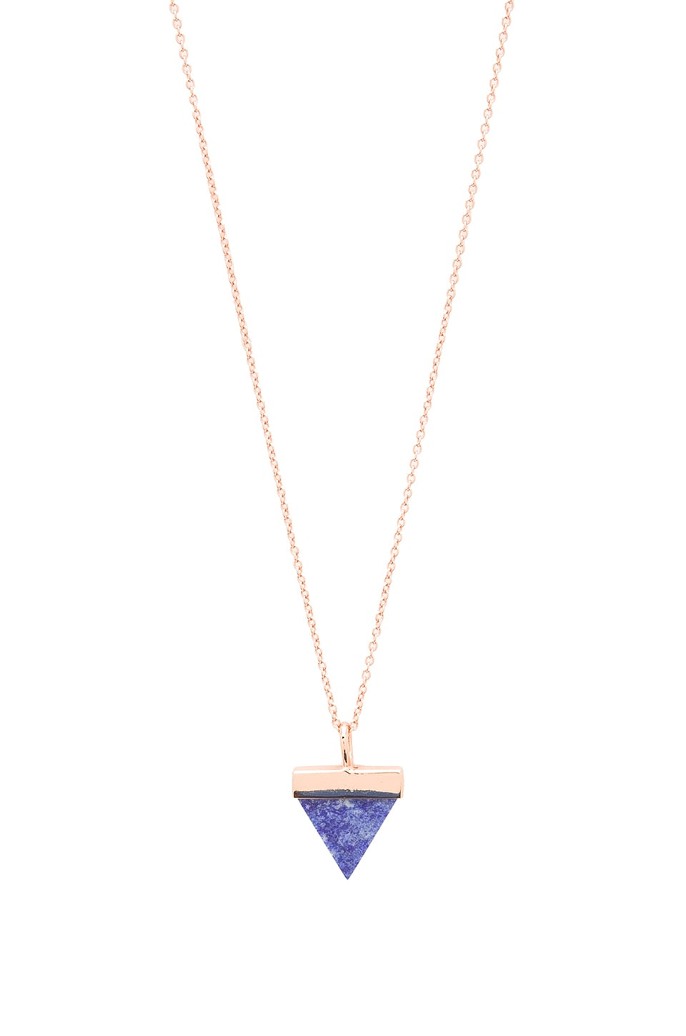 Samantha Wills Aztec Dreaming Necklace in Rose Gold & Lapis