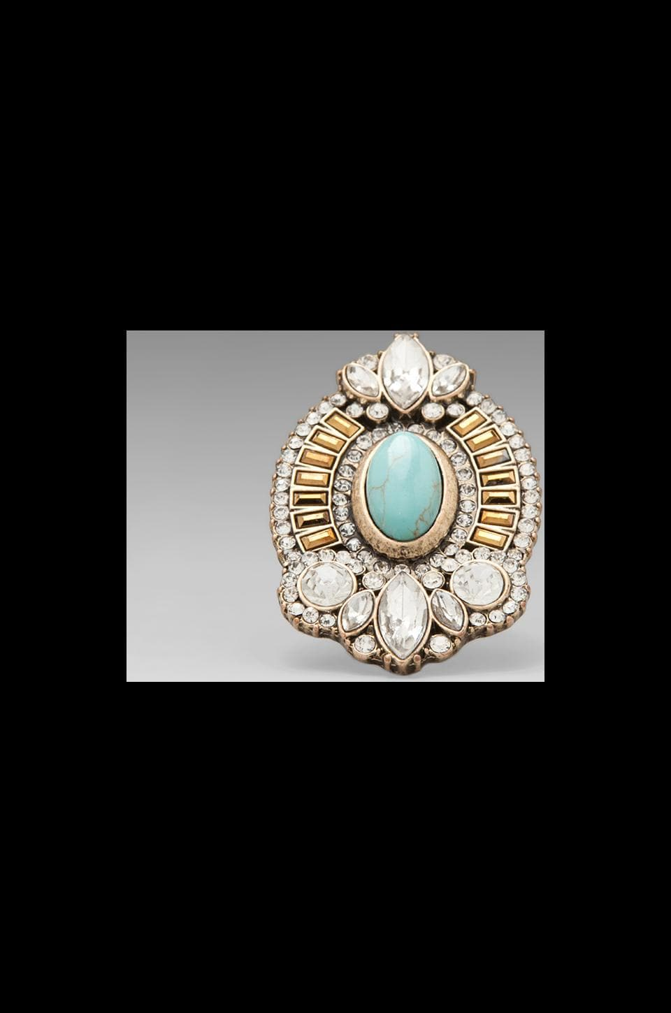 Samantha Wills Endless Night Ring in Turquoise