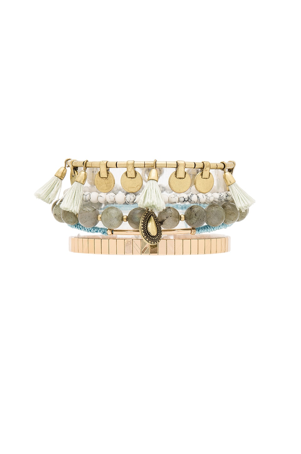Samantha Wills Heart Wonder Bracelet Set in Gold