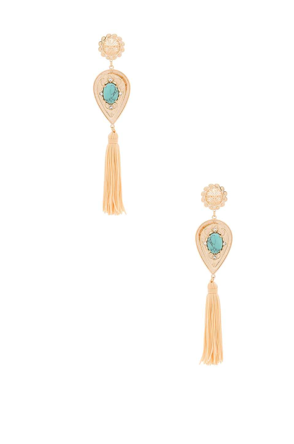Samantha Wills Nightfall Re Large Drop Earrings In Shiny Gold