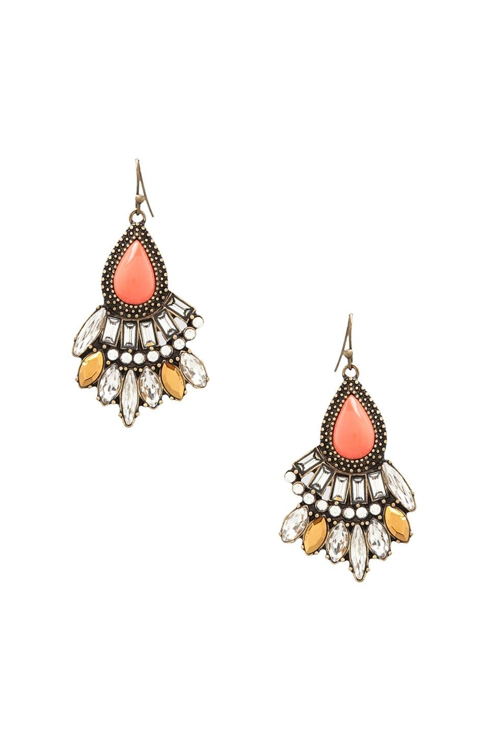 Samantha Wills Endless Night Earrings in Coral