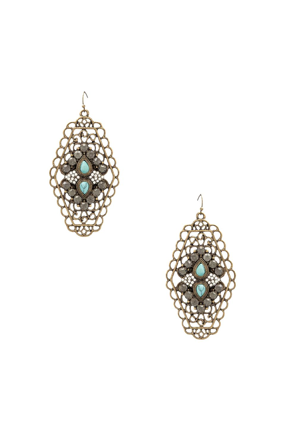 Samantha Wills Shade Of Day Earrings in Turquoise