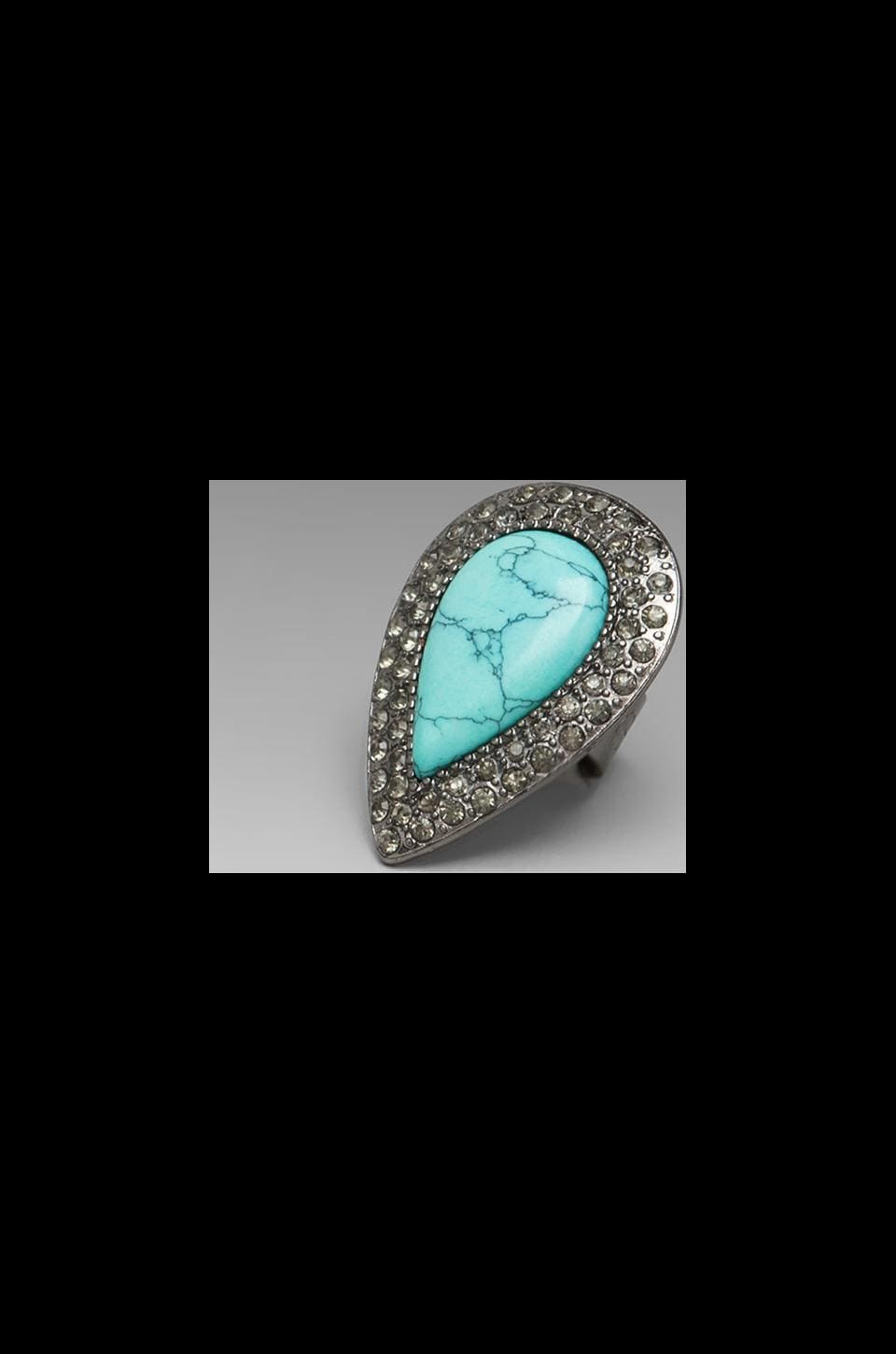 Samantha Wills Bardot Ring in Turquoise