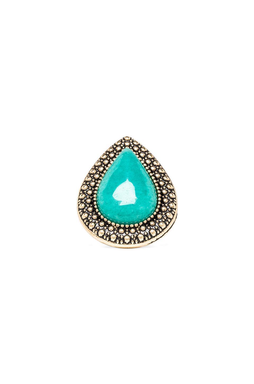 Samantha Wills Bohemian Bardot Ring in Ocean Blue