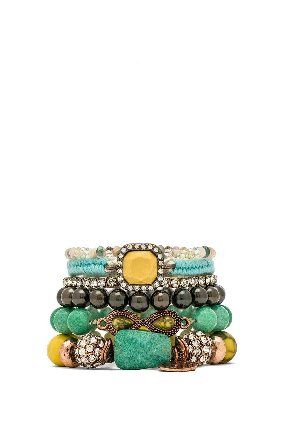 Samantha Wills Endless Summer Bracelet Set in Yellow