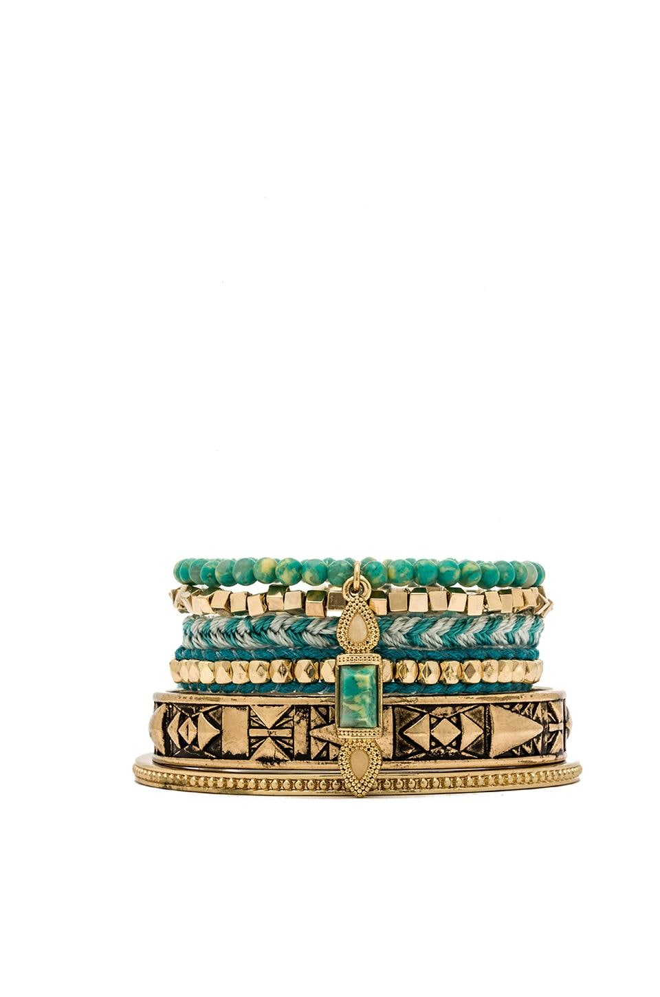 Samantha Wills This is Bliss Bracelet Set in Speckled Turquoise