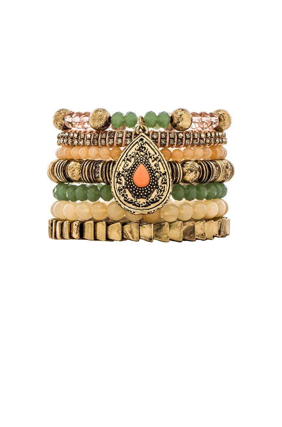 Samantha Wills Maybe Tomorrow Bracelet Set in Apricot