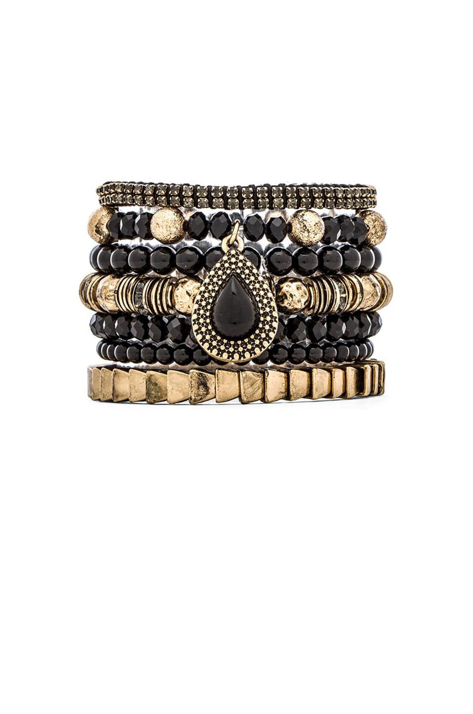 Samantha Wills Moments By The Moonlight Bracelet Set in Gold
