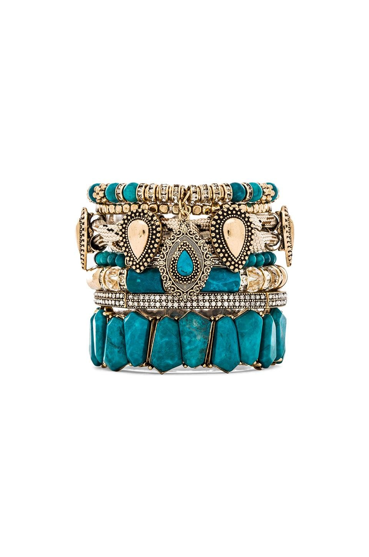 Samantha Wills Southern Sun Bracelet Set in Turquoise
