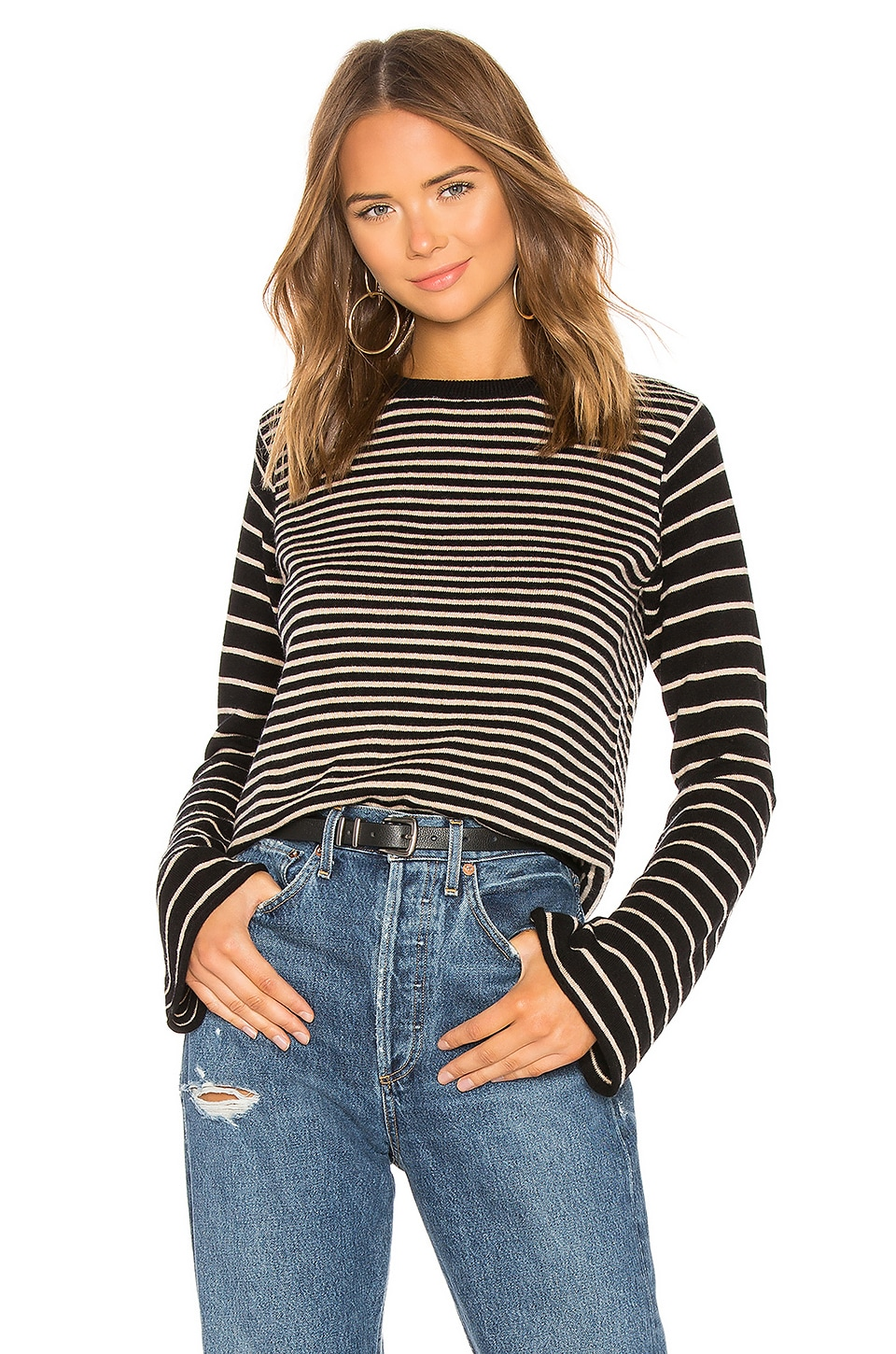 Tabula Rasa Kusaila Stripe Sweater in Black Multi