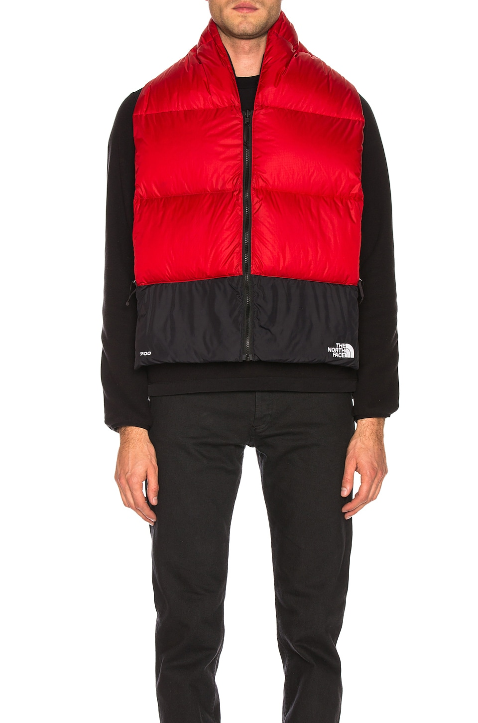 The North Face Nuptse Scarf in TNF Red