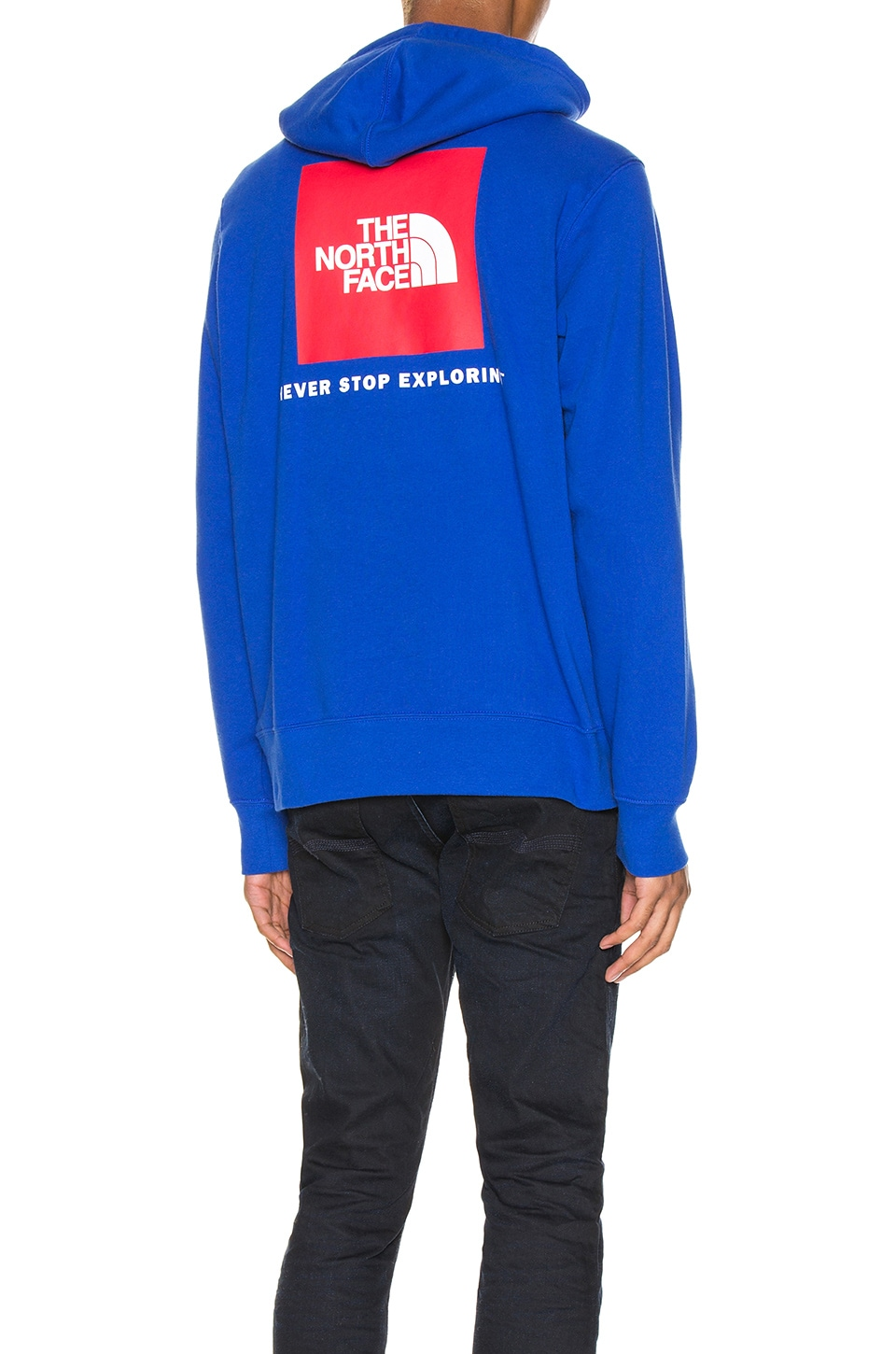 The North Face Red Box Pullover Hoodie in TNF Blue