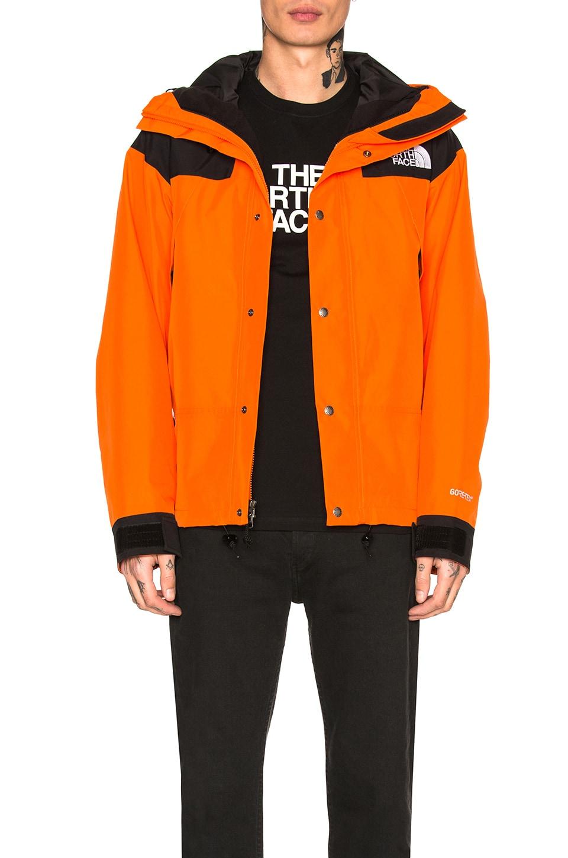 7053aa048 The North Face 1990 Mountain Jacket GTX in Persian Orange | REVOLVE