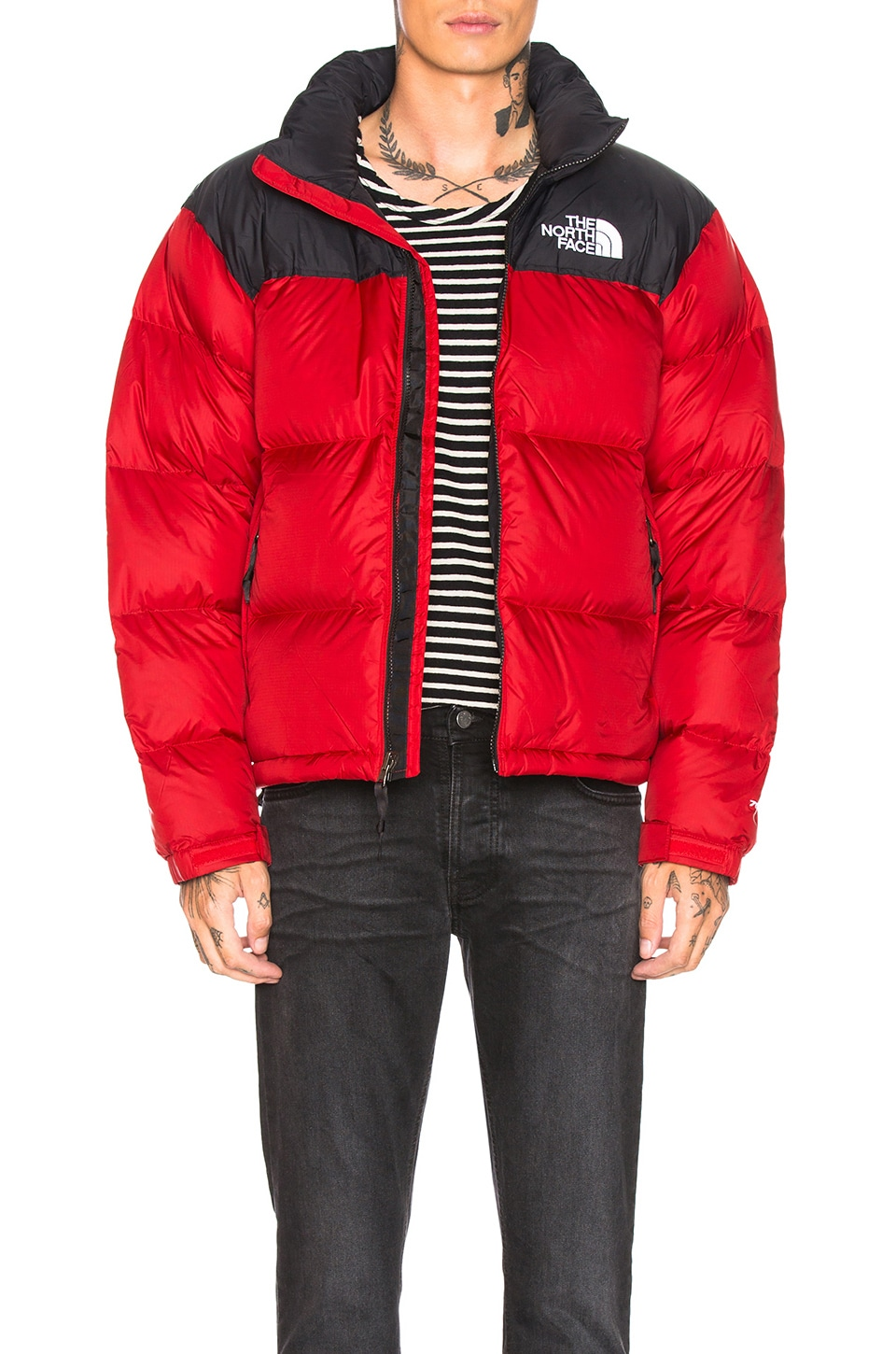 The North Face 1996 Retro Nuptse Jacket in TNF Red
