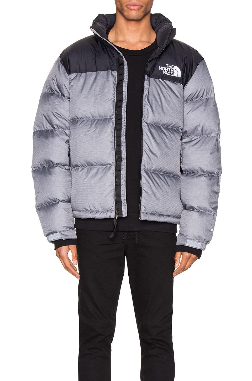 The North Face 1996 Retro Nuptse Jacket in TNF Medium Grey Heather