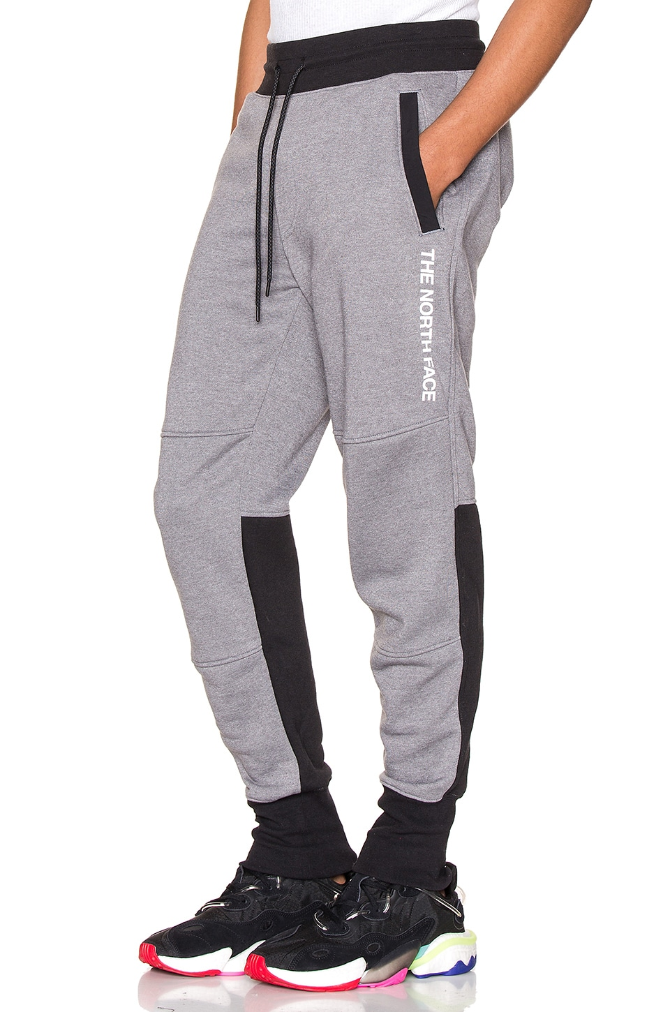 The North Face NSE Graphic Pant in TNF Medium Grey Heather