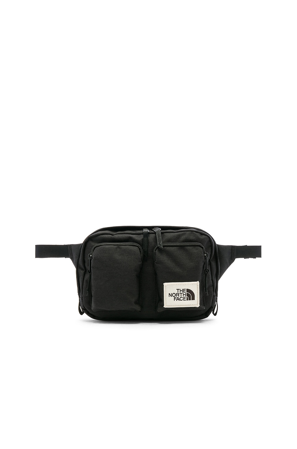 ff272246a The North Face Kanga Bag in TNF Black Heather | REVOLVE