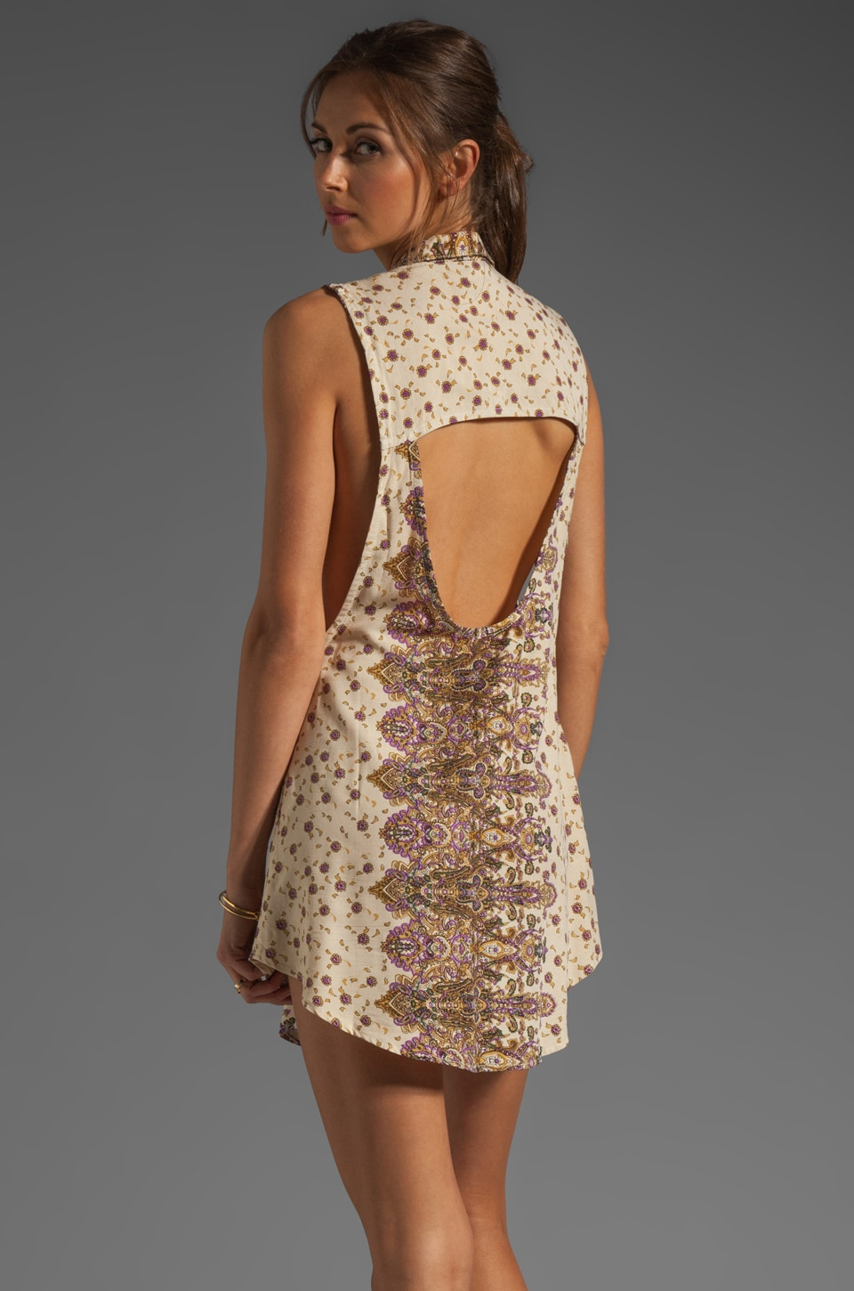 Tallow Mystere Dress in Paisley