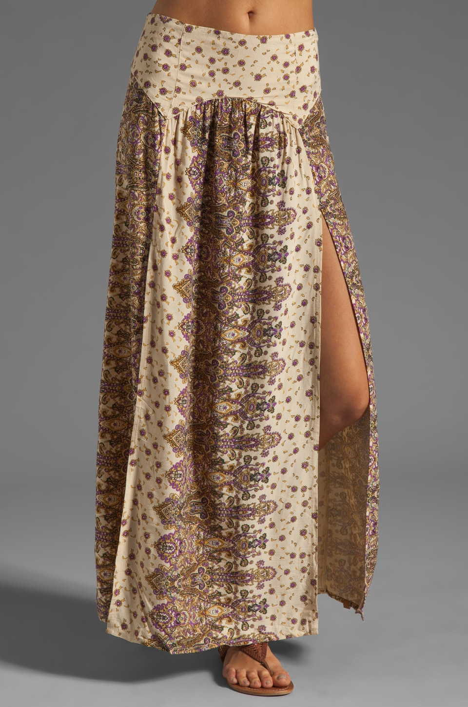 Tallow Mystere Maxi Skirt in Paisley